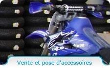 Vente et pose d'accessoires auto/moto
